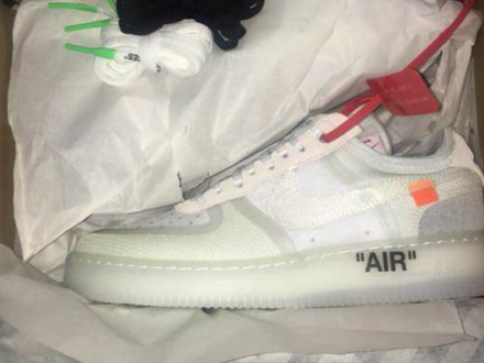 Nike x Off white The ten Air force 1 Low 12US - photo 1/5
