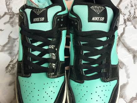 Nike Dunk Low Pro SB Diamond Supply Tiffany - photo 1/8