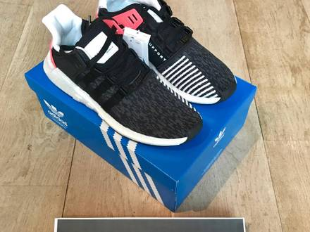 Adidas EQT Boost 93/17 Support, Core Black Turbo Red ( 11us) - photo 1/5