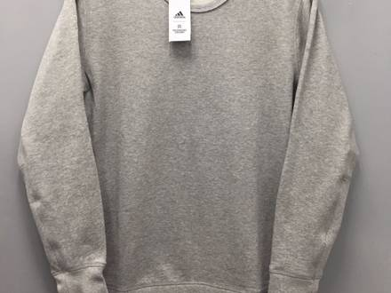 ADIDAS x Reigning Champ: crew Grey sweatshirt, Size Small, BRAND NEW with Tags! - photo 1/6