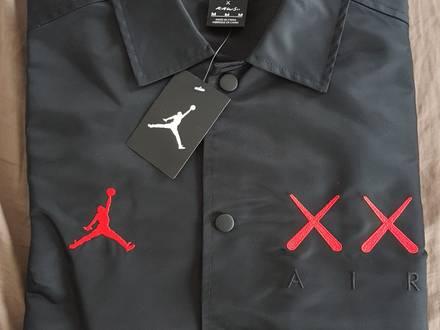 Nike Jordan x Kaws Coach Jacket - photo 1/8