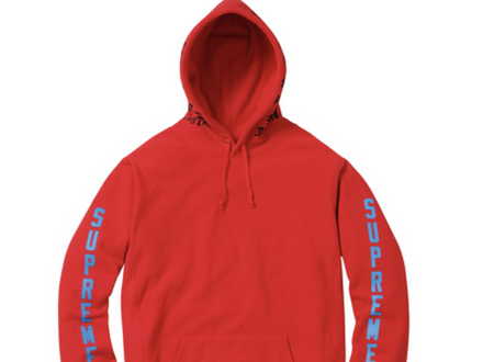 Supreme x Thrasher Hoodie Red SS17 - photo 1/6