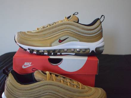 """Nike <strong>Air</strong> <strong>Max</strong> <strong>97</strong> Og Qs """"<strong>Gold</strong>"""" - photo 1/6"""