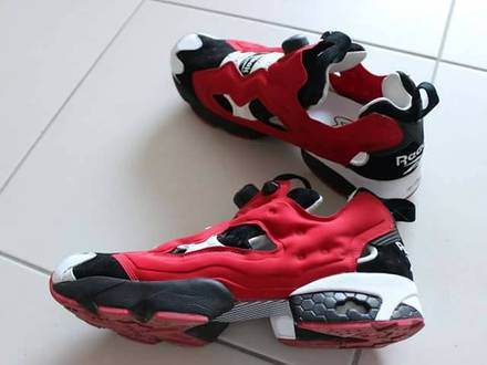 Insta Pump Fury OG ACHM Red Black Achromatic - photo 1/5