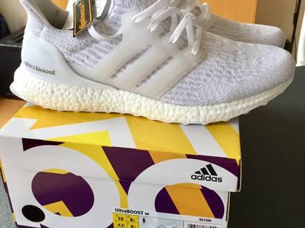 <strong>Adidas</strong> <strong>Ultra</strong> <strong>Boost</strong> 3.0 <strong>Triple</strong> <strong>White</strong> - photo 1/5