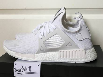 <strong>Adidas</strong> <strong>NMD</strong> <strong>XR1</strong> PK all white US10 - photo 1/6