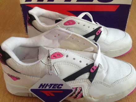 1990s HI-TEC TENNIS SP2 vintage sneakers size US7 EUR39 RARE with original plastic bag - photo 1/7