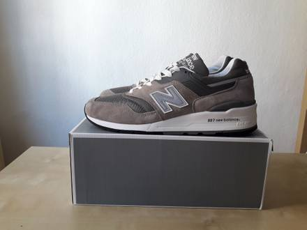 New Balance 997 GY2 grey US 11 Made in USA - photo 1/8