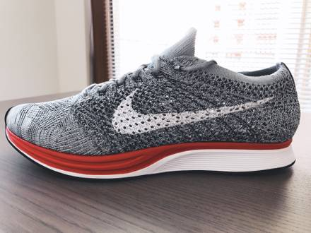 """Nike Flyknit Racer Little Red """"No Parking"""" - photo 1/5"""
