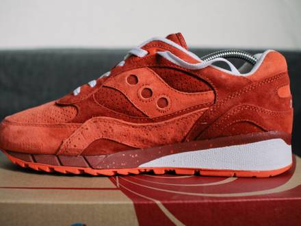 <strong>Saucony</strong> Shadow 6000 x Premier Life on Mars Red US 10,5 EU 44,5 UK 9,5 - photo 1/8