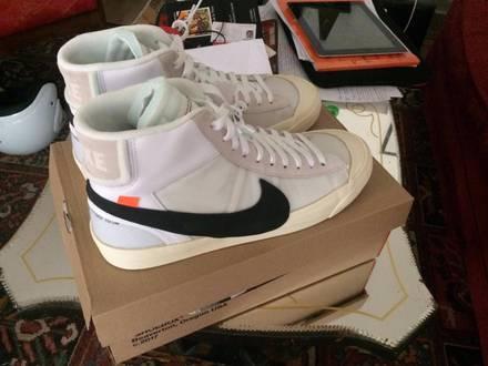 Nike Blazer The ten x Off White. - photo 1/7