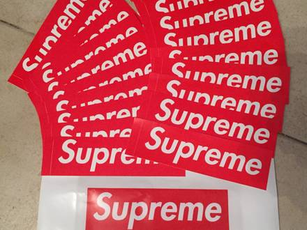 Supreme Stickers Set Of 40 Stickers - photo 1/5