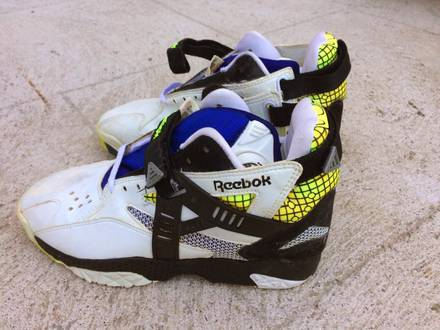 Reebok Pump Arsenal vintage UK 9 EU 43 Rare - photo 1/6