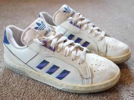 Adidas Edberg Graf Lendl 80s 90s US 3 FR 35 - photo 1/8