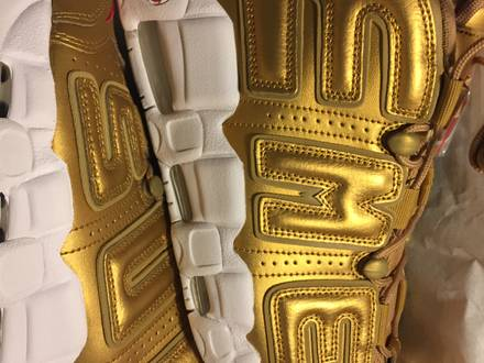 Nike x <strong>Supreme</strong> <strong>Uptempo</strong> - photo 1/5