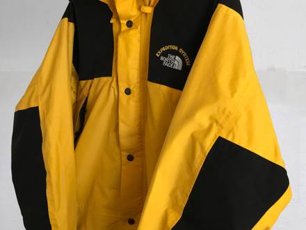 Rare Vintage The North Face Mountain Expedition System Gore-Tex jacket Yellow /Black Size L - photo 1/8