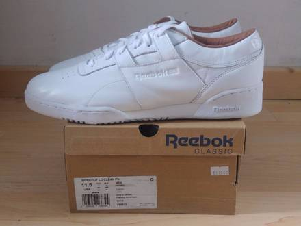 "Reebok ""Workout Lo Clean Pn"" - Leder / Leather - Sneaker - weiß / white - photo 1/5"