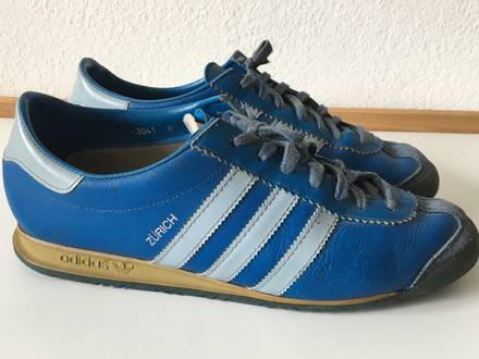 Adidas Zürich straight from the '80 !SUPER RARE! - photo 1/8