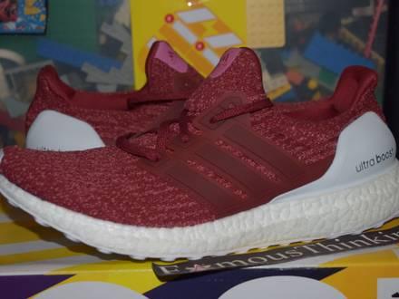 TEST WEAR SAMPLE Adidas Ultra boost Burgundy 3.0 - photo 1/6