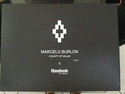 reebok x marcelo burlon - photo 1/7