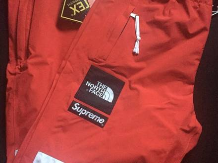 Supreme x TNF Red pants M - photo 1/5
