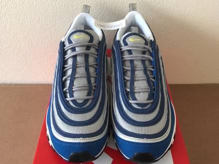 Nike <strong>Air</strong> <strong>Max</strong> <strong>97</strong> OG Atlantic Blue/Neon Yellow/Metallic <strong>Silver</strong> UK 8.5, 9, 10 - photo 1/7