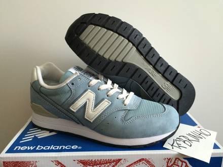 New Balance 996 MRL996FL ash blue US5.5 DS women - photo 1/5