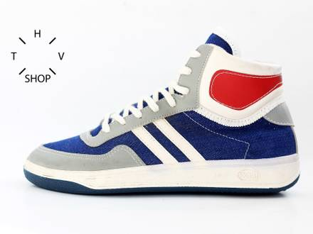 NOS 1989 ZGPG Stomil Pivot sneakers hi tops kicks made in Poland polish 80s - photo 1/8