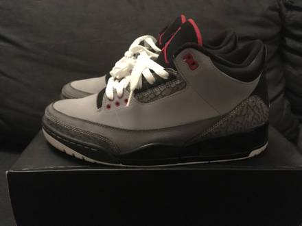 Nike Air Jordan 3 Stealth (2011) - photo 1/8