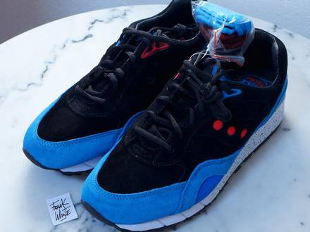 "<strong>Saucony</strong> Shadow 600 Footpatrol ""Only in Soho"" - US9.5 - DS New with Rep Box and Extra Laces - photo 1/7"