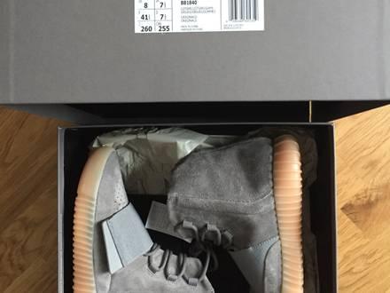 Adidas Yeezy Boost 750 grey gum (glow in the dark) size US8 / EU 41 1/3 - photo 1/8