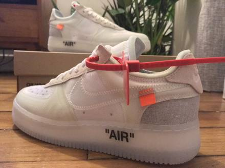 Nike x Off White Air Force 1 Low Virgil Abloh The 10 - photo 1/5