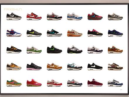 NIKE AIR MAX 1 LIMITED EDITION POSTER PACK - photo 1/5