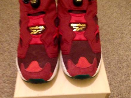 Reebok x End Insatapump Fury OG Claret UK 10.5 - photo 1/5