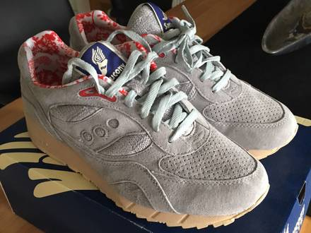 "<strong>Saucony</strong> X Bodega Shadow 6000 ""Sweater Dist"" Grey US11.5 - photo 1/5"