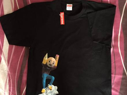 Supreme x Mike Hill Regretter Tee - Black - Size M - DSWT - photo 1/6
