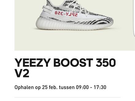 Adidas Yeezy boost 350 v2 ZEBRA colourway - photo 1/5