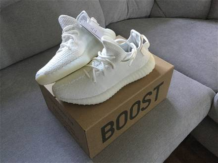 Adidas <strong>yeezy</strong> <strong>350</strong> boost v2 <strong>cream</strong> <strong>white</strong> - photo 1/8