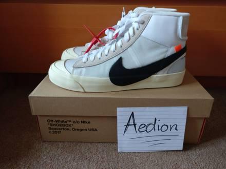 THE 10 : Nike Blazer Mid x Virgil Abloh - photo 1/8