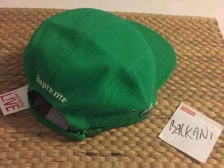 SUPREME x LACOSTE Green Camp Cap - DS 120€ - photo 1/5
