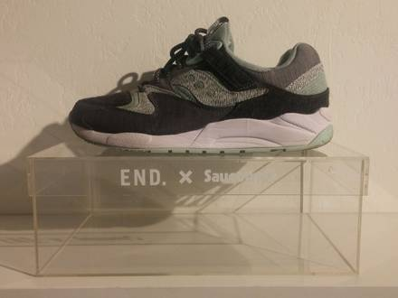 "<strong>Saucony</strong> x End. Grid 9000 ""White Noise"" - photo 1/5"