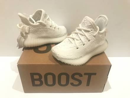 Adidas Yeezy Boost 350 v2 Cream White INFANT 5K US/4K UK RECEIPT VERY RARE SIZE - photo 1/8