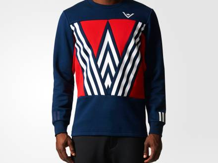 Adidas x White Mountaineering Sweatshirt Size: L - photo 1/5