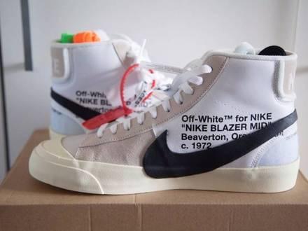 Off White x Nike Blazer The Ten - photo 1/5