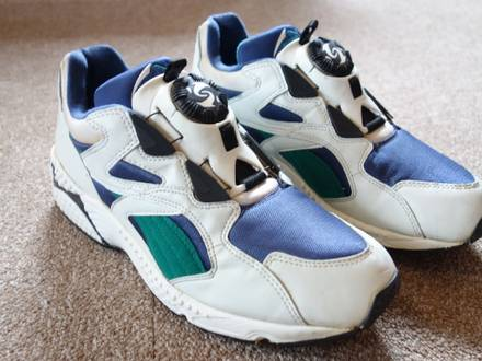 Puma Disc System 90s Vintage Blaze Response 1995 US 8 1/2 FR 41 - photo 1/8