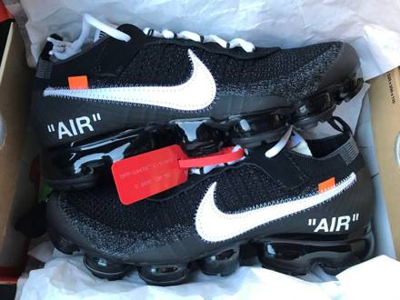 NIKE AIR VAPORMAX THE 10 OFF WHITE - photo 1/5