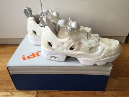 Reebok x Sneakerboy Instapump Fury Pony white US 9 - photo 1/6