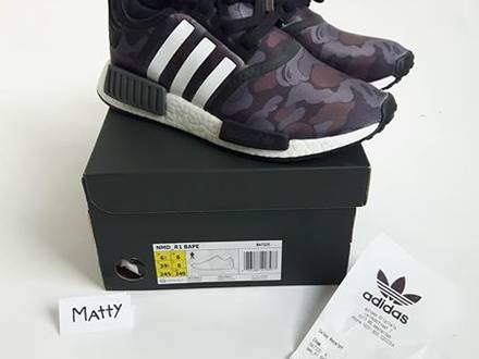 adidas Originals x Bedwin NMD_R1 Gray Sneakers BB3124