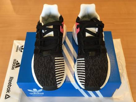 Adidas EQT Support 93/17 Black Turbo Red - US.7 - photo 1/5