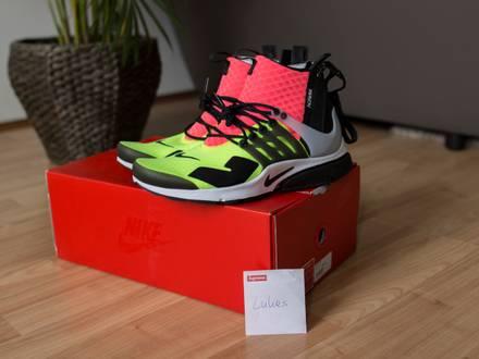 Nike x Acronym Presto Mid ' Hot Lava ' Size S - photo 1/5